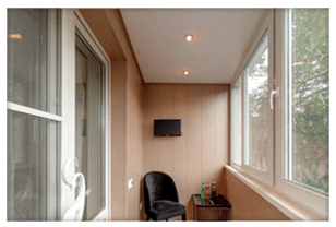 Утепление лоджии, балкона