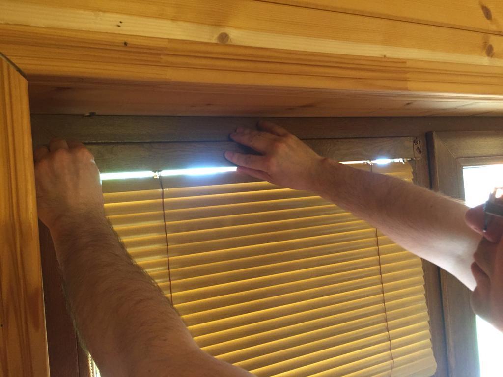 установка окна integra