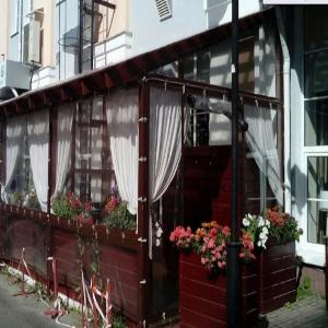 мягкие окна в ресторан