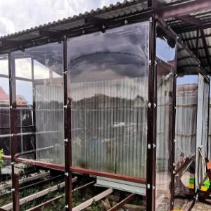 мягкие окна в теплицу